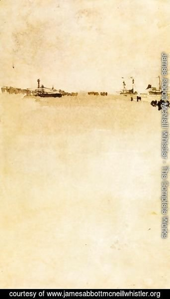 James Abbott McNeill Whistler - Beach Scene I