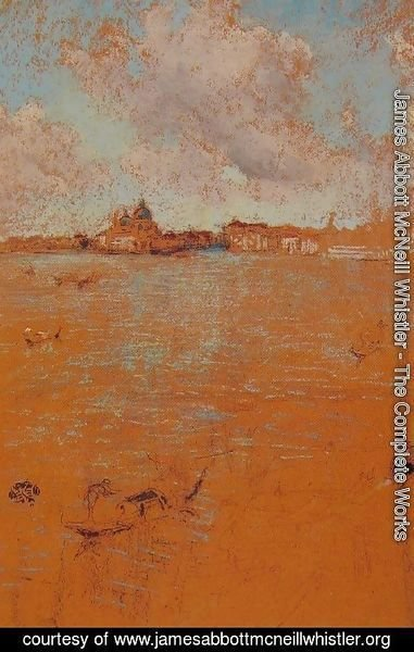James Abbott McNeill Whistler - Venetian Scene