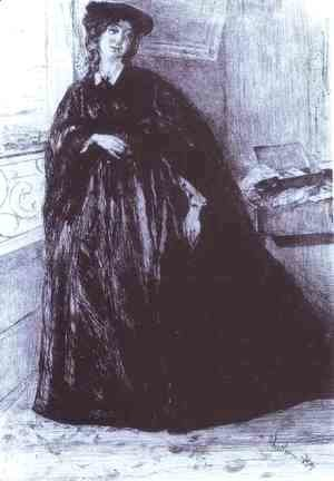James Abbott McNeill Whistler - Finette