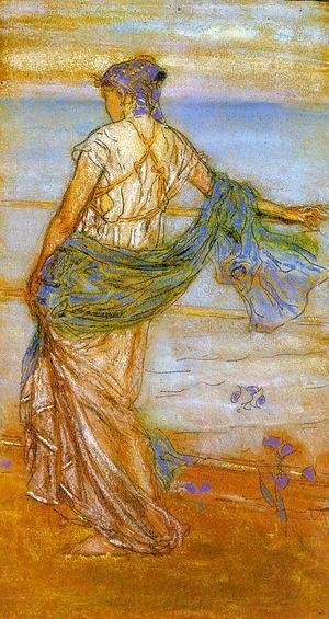 James Abbott McNeill Whistler - Annabel Lee (Also known as 'Niobe')