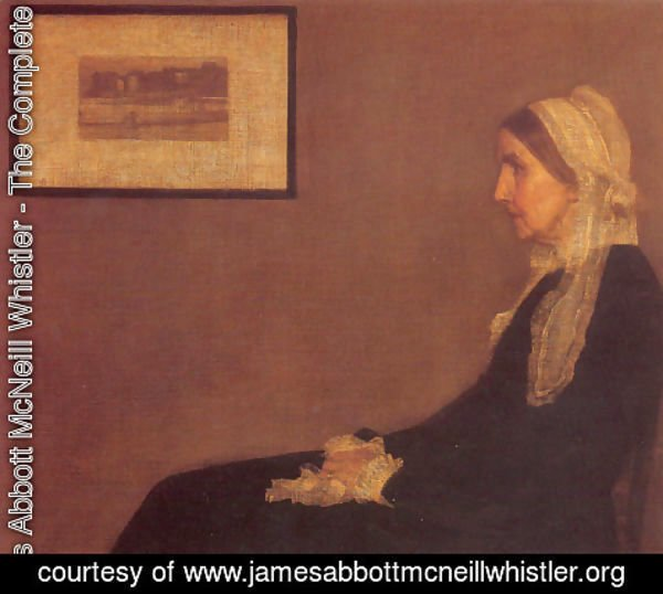 James Abbott McNeill Whistler - Portrait of his Mother