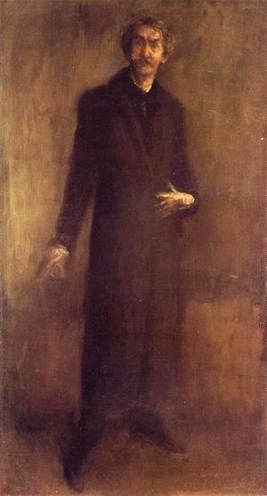 James Abbott McNeill Whistler - Self-Portrait