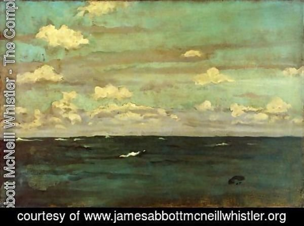 James Abbott McNeill Whistler - Violet and Siilver, A Deep Sea