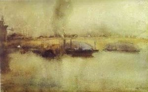 James Abbott McNeill Whistler - London Bridge 1885