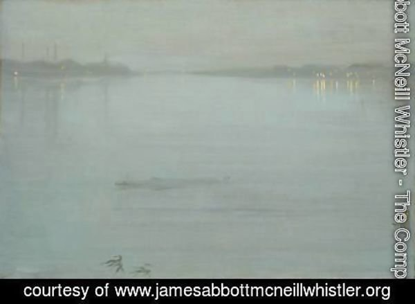 James Abbott McNeill Whistler - Nocturne Blue And Silver Cremorne Lights 1872