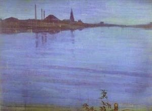 James Abbott McNeill Whistler - Nocturne In Blue And Silver 1871 2