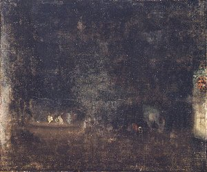 Nocturne in Green and Gold 1877