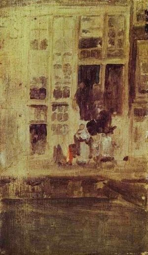 James Abbott McNeill Whistler - The Grey House 1889