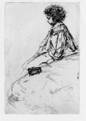 James Abbott McNeill Whistler - Bibi Lalouette