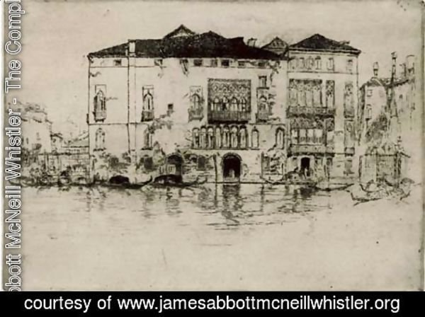 James Abbott McNeill Whistler - The Palaces