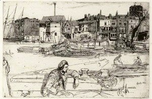 James Abbott McNeill Whistler - Black Lion Wharf 2