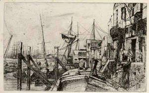 James Abbott McNeill Whistler - Limehouse