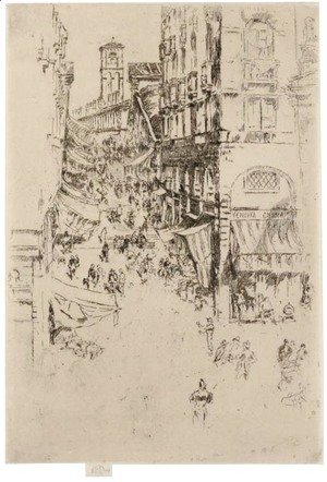 James Abbott McNeill Whistler - Rialto