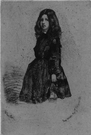 James Abbott McNeill Whistler - Annie