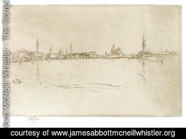 James Abbott McNeill Whistler - La Salute Dawn