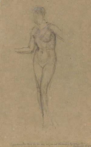 James Abbott McNeill Whistler - Nude Standing