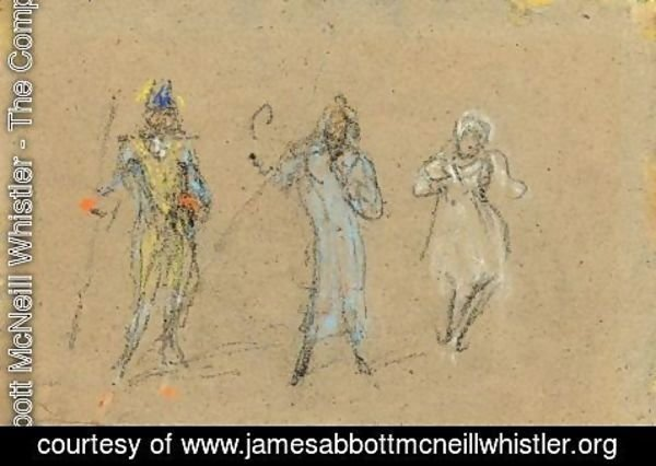 James Abbott McNeill Whistler - Souvenir Of The Gaiety