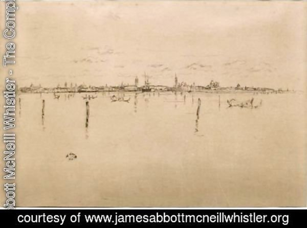 James Abbott McNeill Whistler - Little Venice
