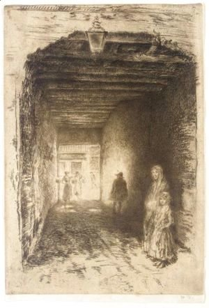 James Abbott McNeill Whistler - The Beggars