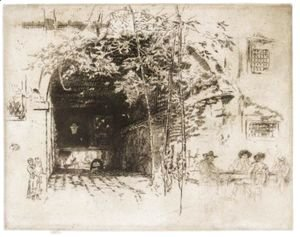 James Abbott McNeill Whistler - The Traghetto