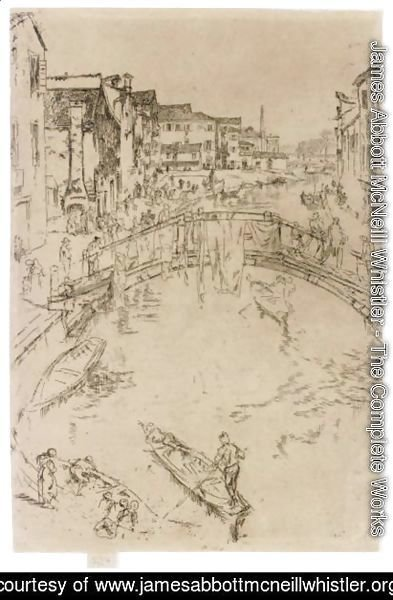 James Abbott McNeill Whistler - The Bridge