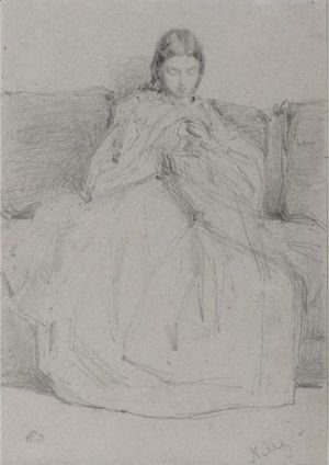 James Abbott McNeill Whistler - Nelly