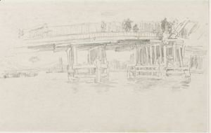 James Abbott McNeill Whistler - Old Battersea Bridge