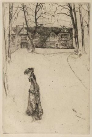 James Abbott McNeill Whistler - Speke Hall