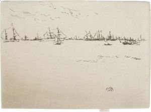 James Abbott McNeill Whistler - Troop Ships