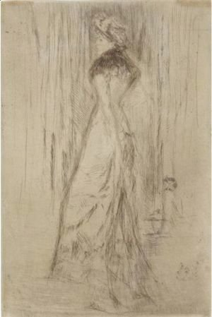 James Abbott McNeill Whistler - Maude, Standing