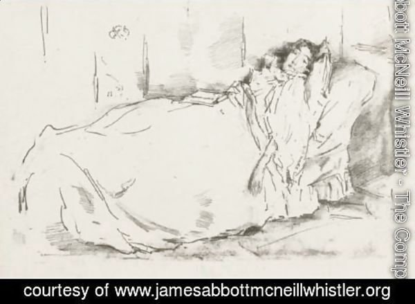 James Abbott McNeill Whistler - The Siesta
