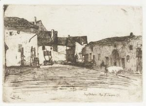 James Abbott McNeill Whistler - Liverdun