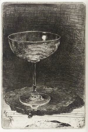 James Abbott McNeill Whistler - The Wine-Glass