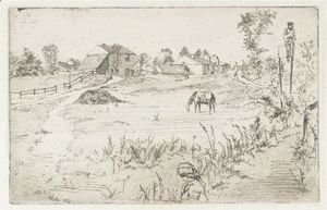 Landscape With The Horse