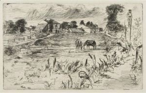 Landscape With The Horse 2