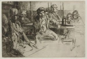 James Abbott McNeill Whistler - Longshoremen 2