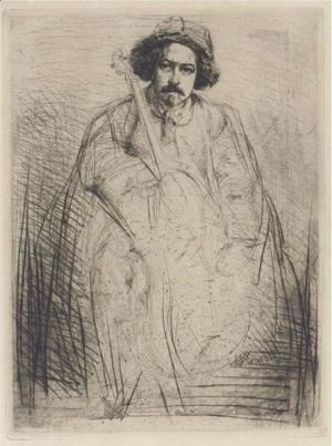 James Abbott McNeill Whistler - Becquet