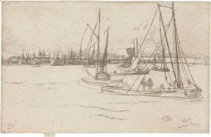 James Abbott McNeill Whistler - Amsterdam, From The Tolhuis