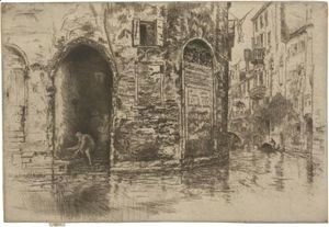James Abbott McNeill Whistler - Two Doorways 2