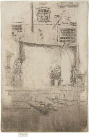 James Abbott McNeill Whistler - Fruit-Stall