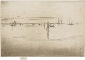 James Abbott McNeill Whistler - Long Lagoon