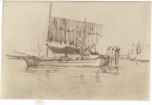 James Abbott McNeill Whistler - Fishing Boat