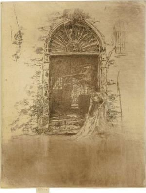 James Abbott McNeill Whistler - The Dyer 2
