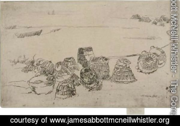 James Abbott McNeill Whistler - Lobster-Pots