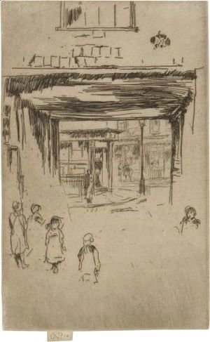 James Abbott McNeill Whistler - Drury Lane