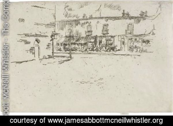 James Abbott McNeill Whistler - Jubilee Place, Chelsea