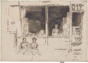James Abbott McNeill Whistler - Melon-Shop, Hounsditch