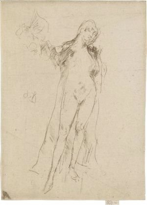 James Abbott McNeill Whistler - The Fan