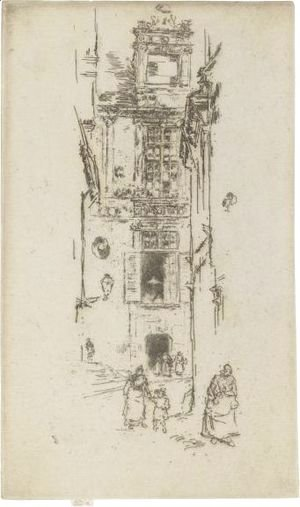 James Abbott McNeill Whistler - Mairie, Loches