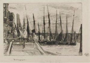 James Abbott McNeill Whistler - Billingsgate